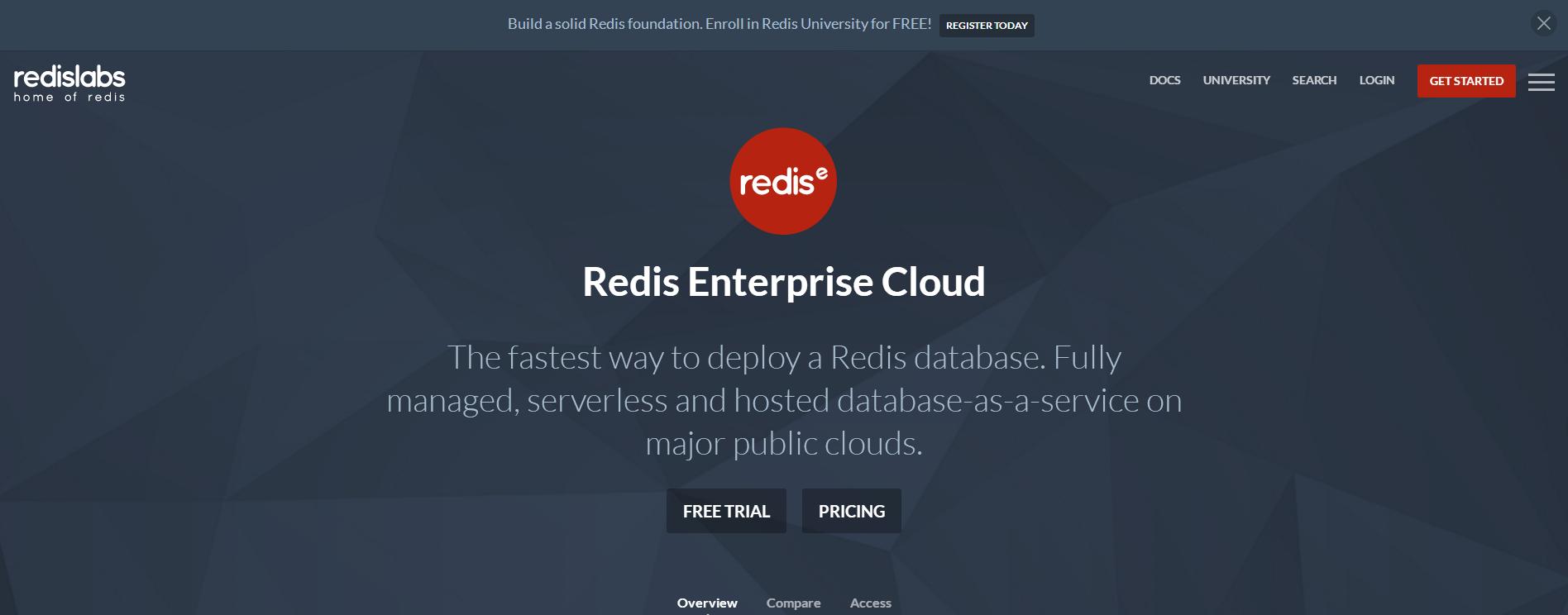 推荐一个免费的Redis数据库(真不是广告)